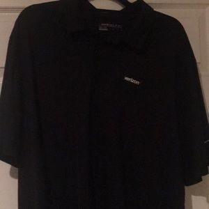 Nike dri fit men's golf shirt
